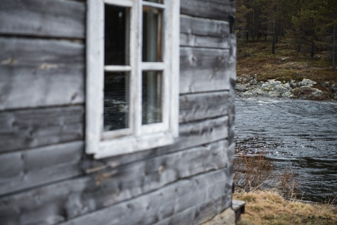 100 years old sauna by a stream. The most Finnish thing there is.